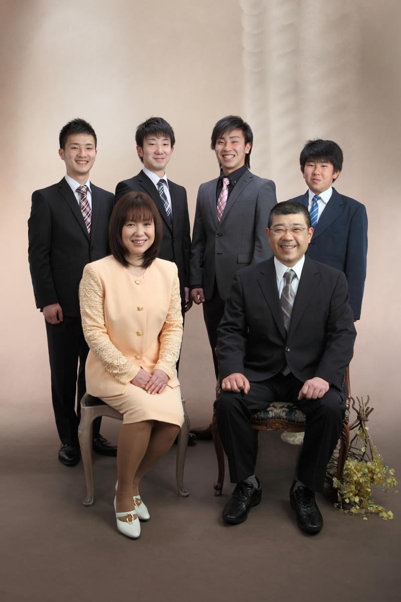 神戸 フォトスタジオ 家族写真